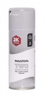 Maston Two 2K vaalea alumiini RAL9006 400ml -  - 6412490037680 - 1