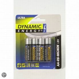 Dynamic Energy AA-paristo 4 kpl/pkt -  - 8711252128580 - 1