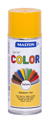Maston Color spraymaali keltainen 400ml -  - 6412491208010 - 1