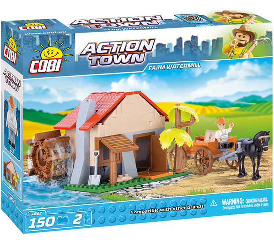 COBI - FARM WATERMILL 150 + 2 FIG -  - 2NDC-100720 - 1