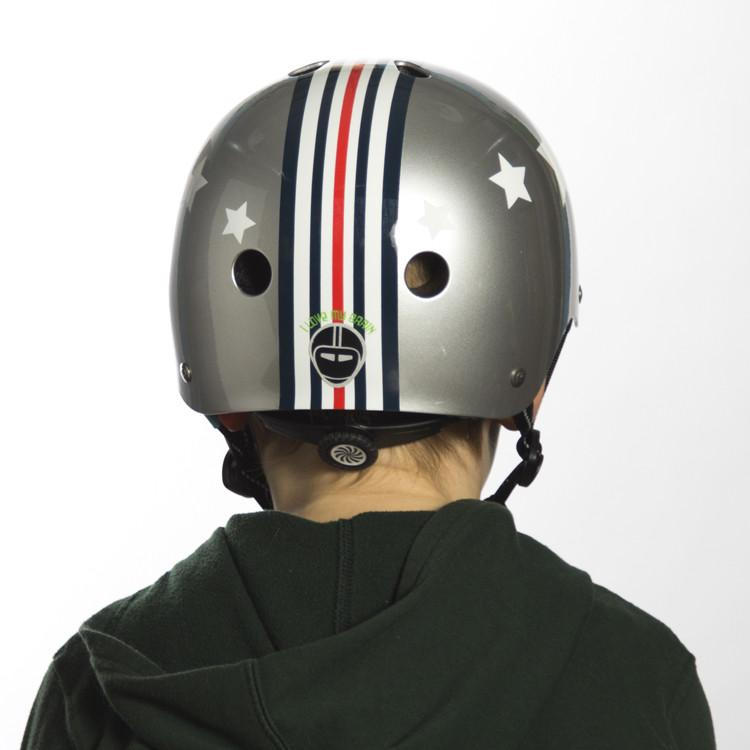nutcase little nutty silver fly street helmet xs. Black Bedroom Furniture Sets. Home Design Ideas