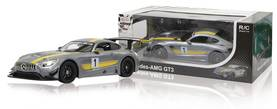 Jamara Kauko-ohjattava auto R/C Car Mercedes AMG GT3 RTR / With Lights 1:14 Harmaa -  - 2NDC-159721 - 1
