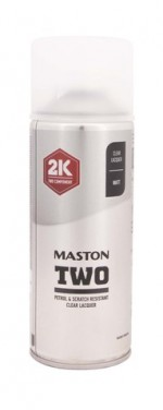 Maston Spraymaali TWO 2K lakka matta -  - 6412490037741 - 1