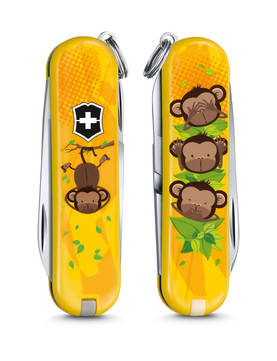 Classic, 3 Wise Monkeys - Victorinox -  - 2NDC-111671 - 1
