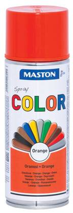 Maston Color spraymaali oranssi 400 ml -  - 6412491208041 - 1