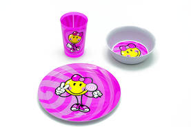Smiley Junior Pink astiasetti - Zak Designs -  - 2NDC-111701 - 1