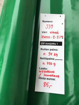 1/2 hinta koukku vihreä Lahti