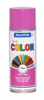 Maston Color spraymaali pinkki 400 ml -  - 6412490035402 - 1