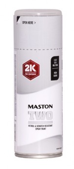 Maston Two 2K vaaleanharmaa RAL7035 400ml -  - 6412490037642 - 1
