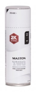 Maston Spraymaali TWO 2K pohjamaali valk -  - 6412490039172 - 1