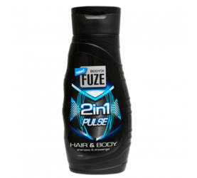 Body-X Fuze Body Wash 300ml Pulse 2in1 -  - 8718692417212 - 1