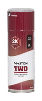Maston Two 2K rubiininpunainen RAL3003 400ml -  - 6412490037543 - 1