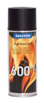 Maston Spray 600°C musta 400ml -  - 6412497102213 - 1