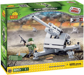 COBI - II WW GERMAN FLAK 36/37 88 MM  120 PALAA -  - 2NDC-100583 - 1