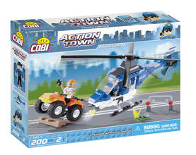 COBI - POLICE COPTER 200 + 2 FIG -  - 2NDC-100693 - 1