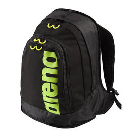 Fast Laptop backpack, 32x17x47cm black/ fluo yellow, Arena -  - 2NDC-153823 - 1