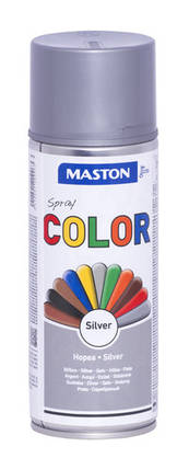 Maston Color spraymaali hopea 400 ml -  - 6412491209963 - 1