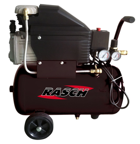 Rasch kompressori 24L/2hp - Paineilmakompressorit - 6419773735783 - 1