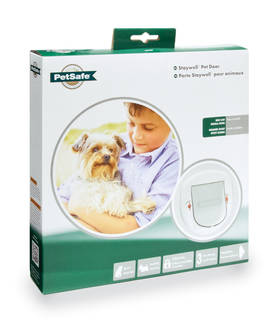 Big Cat/Small Dog Pet Door- valkoinen -  - 2NDC-81784 - 1