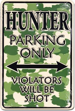 Hunter Parking only -kyltti -  - 8716106625994 - 1