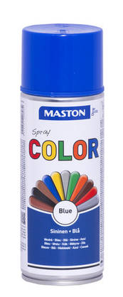 Maston Color spraymaali  sininen 400 ml -  - 6412491208034 - 1