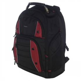 "TARGUS DRIFTER 16"" BACKPACK BLACK/RED -  - 2NDC-97374 - 1"