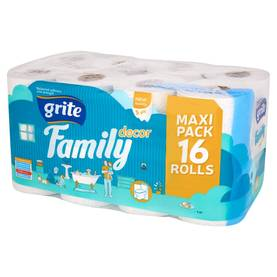 Grite Family wc-paperi 16 rullaa -  - 4770023141115 - 1