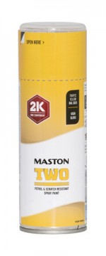 Maston Two 2K rypsinkeltainen RAL1021 400ml -  - 6412490037505 - 1