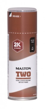 Maston Two 2K Anti Rust -primer punainen -  - 6412490037765 - 1