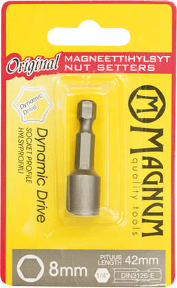 Magnum magneettihylsy 8mm/45mm -  - 6418868176685 - 1