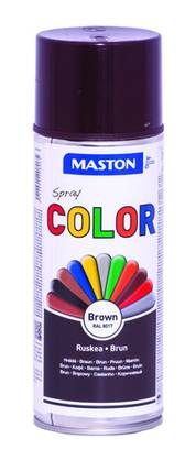 Maston Color spraymaali ruskea 400 ml -  - 6412491208065 - 1