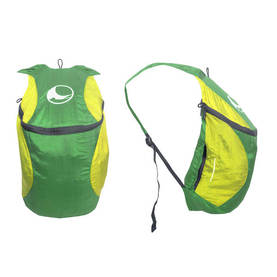 Mini BackPack Plus green/lime, 15L. 15kg. Taskulla., Ticket To The Moon -  - 2NDC-154005 - 1
