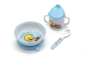 Smiley Baby Blue astiasetti lahjapk - Zak Designs -  - 2NDC-111695 - 1