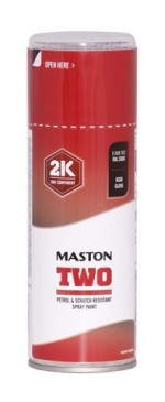 Maston Two 2K tulenpunainen RAL3000 400ml -  - 6412490037536 - 1