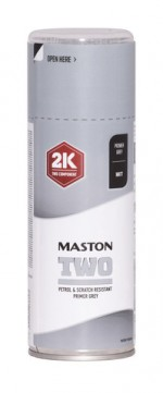 Maston Two 2K spraymaali pohjamaali harmaa 400ml -  - 6412490037796 - 1