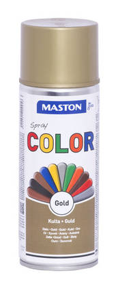 Maston Color spraymaali kulta 400 ml -  - 6412491209956 - 1