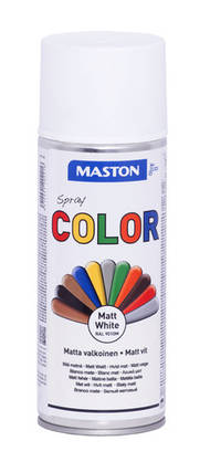 Maston Color spraymaali valkea matta -  - 6412491202216 - 1