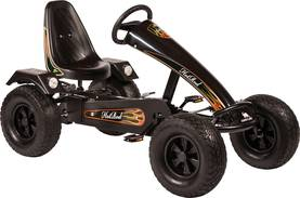 Polkuauto Go-Kart Hot Rod ZF Black -  - 4038186117126 - 1
