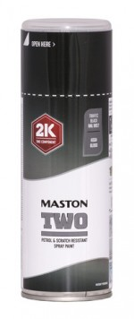 Maston Two 2K liikennemusta RAL9017 400ml -  - 6412490037727 - 1