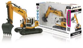 Jamara Kauko-ohjattava kaivuri R/C Digger J-Matic Multi 6+2 Channel RTR / With Lights 2.4 GHz Contro -  - 2NDC-159667 - 1