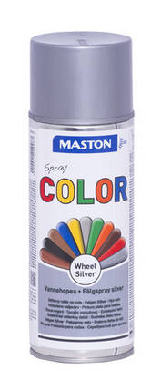 Maston Color spraymaali vannehopea -  - 6412491209987 - 1