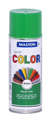 Maston Color spraymaali vihreä 400ml -  - 6412491208027 - 1
