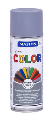 Maston Color pohjamaali harmaa 400 ml -  - 6412491205187 - 1