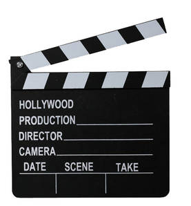 Hollywood clapperboard -  - 4029811343508 - 1