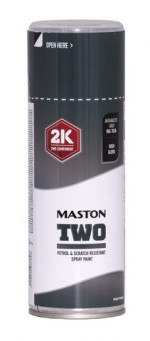 Maston Two 2K antrasiitinharmaa RAL7016 400ml -  - 6412490037628 - 1