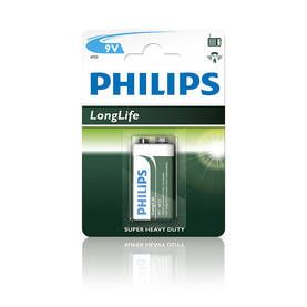 Philips 9V paristo Long Life -  - 8712581549558 - 1