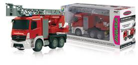 Jamara Kauko-ohjattava paloauto R/C Fire Truck Mercedes Antos 4+6 Channel RTR / Sound / With Lights -  - 2NDC-159698 - 1