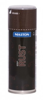 Maston Spraymaali Rust effect 400ml -  - 6412490036959 - 1