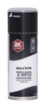 Maston Two 2K pohjamaali musta 400 ml -  - 6412490037789 - 1