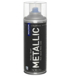 Maston spraymaali Metallic musta 400ml -  - 6412492108159 - 1